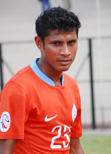 Steven Dias has given a good impression of himself for Delhi Dynamos