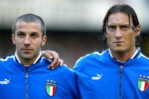 Men of Valor: Alessandro Del Piero and Francesco Totti