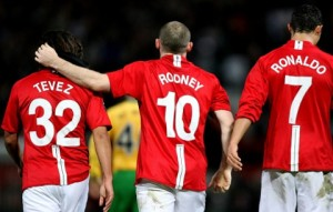 Rooney has combined very well with his other attacking teammates