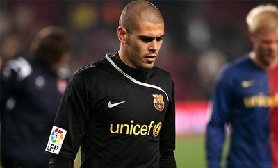 Barcelona set to lost Victor Valdes at the end of the season