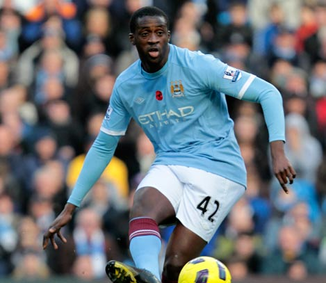 Yaya Toure's partnership with Fernandinho has been pivotal to City's performances