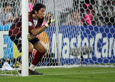 Buffon [C]:AFP PHOTO PATRIK STOLLARZ