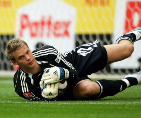 The former Schalke 04 goal-keeper is now a part of a historic Bayern Munich side
