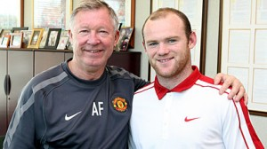United manager Ferguson had his run-ins with Eriksson over his talented striker Wayne Rooney