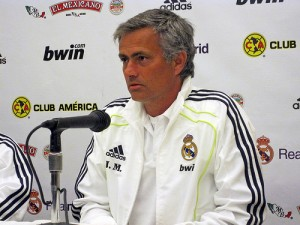 Real Madrid under Jose Mourinho win La Liga