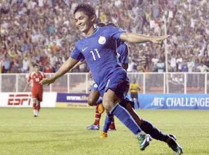 Sunil Chhetri is set to return after missing the semi