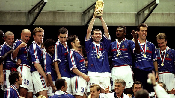The defining moment for French football