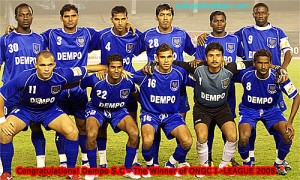 Dempo Won Five League Titles under Armando Colaco.