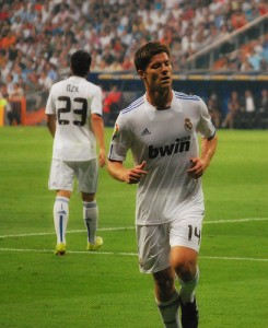 Xabi Alonso Real Madrid