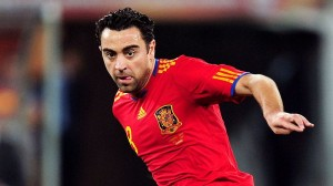 Can Xavi get the better of Paulinho?