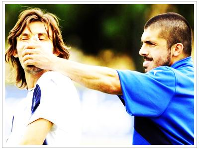 Pirlo and Gattuso - the Deadly Duo
