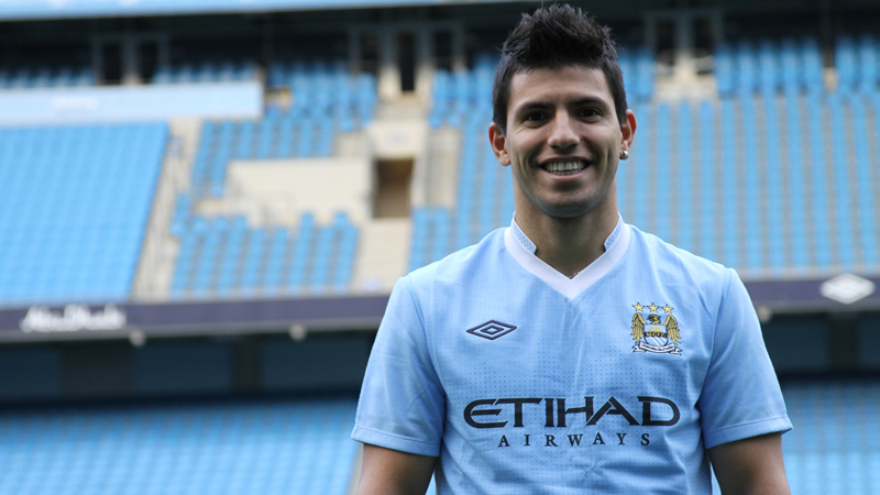 Image result for aguero signs for city