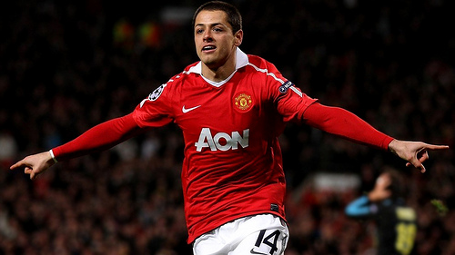 Tottenham Hotspur Lining Up A Move For Manchester United Striker Javier Hernandez