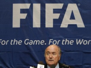 Blatter continues to bumble his way about at the helm of FIFA