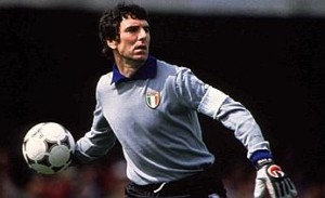 Dino Zoff in his playing days