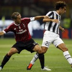Amborsini and Pirlo - on opposite sides now