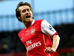 Rosicky scored a brilliant goal in Arsenal's 4-1 thrashing of Sunderland