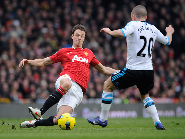 Failing to step up and take the lead, has probably cost Evans his United career