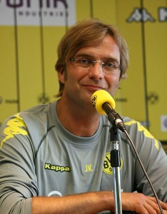 Jürgen Klopp joked about Mourinho's presence after Dortmund's match.