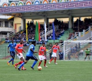 United Sikkim in action in Division-2