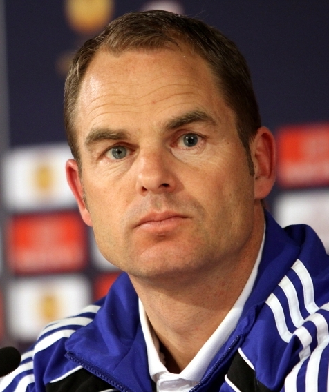 Frank Boer - Coach of Ajax