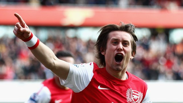Arsenal FC : A Fit Tomas Rosicky Is Gunners' Mozart