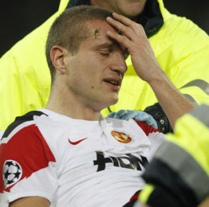 Nemanja Vidic's absence ensured United fall short!