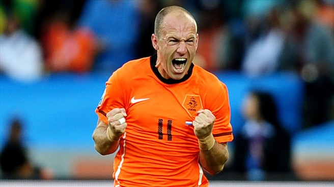 Arjen Robben For Netherlands