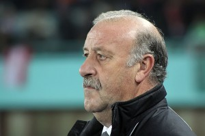 Vincente Del Bosque has quite a few dilemmas with his Spain squad, but the unexpected dilemma at center forward is one for which he is grateful.