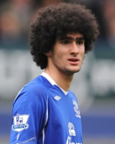 Marouane Fellaini - new signing by Manchester United