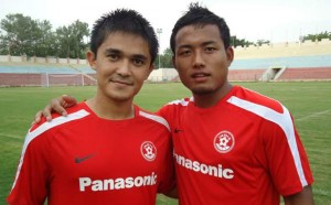 Jeje and Chhetri : Forging a Great Combination Upfront !!
