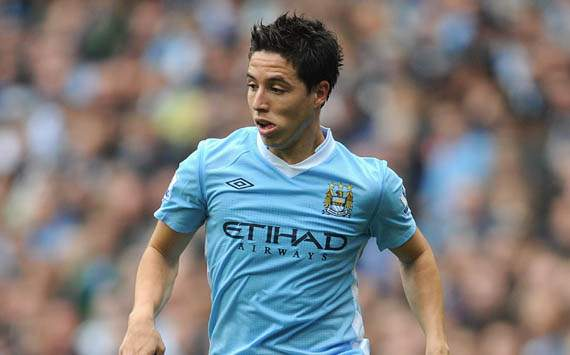 If Nasri starts on the left, will Dani Alves punish City again?