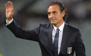 Cesare Prandelli - Italy vs Armenia World Cup Qualifier