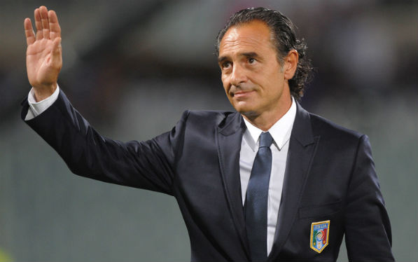 Cesare Prandelli at Euro 2012
