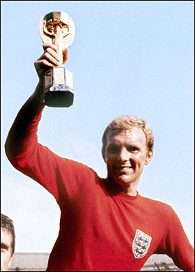 Bobby Moore - Chief Guest 1984 Nehru Cup Final
