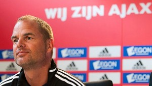 Ajax's De Boer was also in the running for the position
