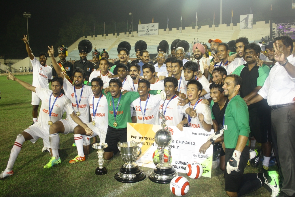 Air India : 2012 Durand Cup Winners