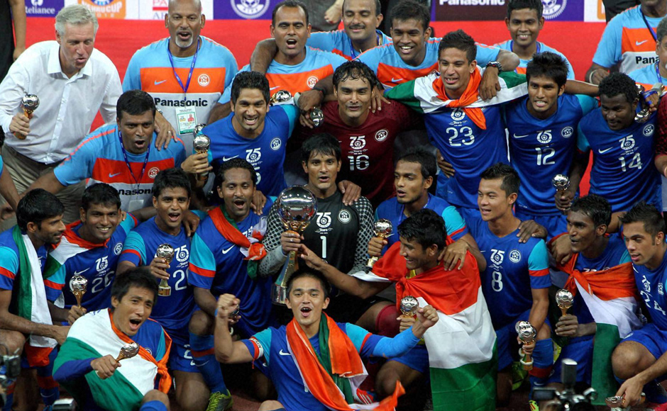 Nehru Cup 2012 Winners - India