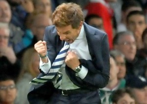 Villas-Boas Old Trafford Celebrations