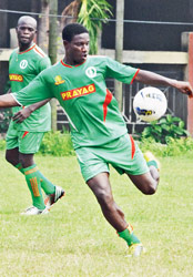 Ranti Martins on his way to I-League top scorer spot for the 3rd time