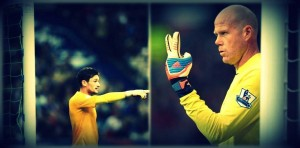 Lloris has displaced Friedel in the starting lineup.