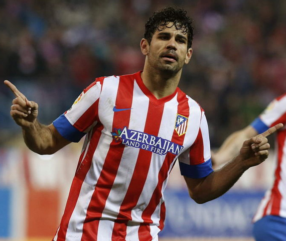 Diego Costa - Atletico Madrid striker | Spain: Is Wealth of Talent a Selection Headache Coach Del Bosque?