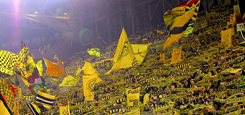The Yellow Wall of Dortmund (EPA)