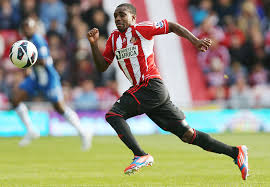 Sunderland's Danny Rose in Premier League action