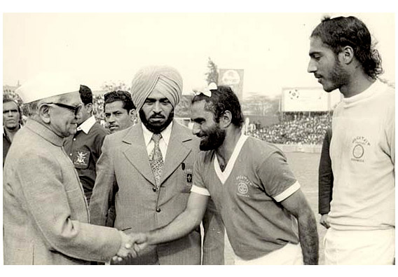 Inder Singh Indian Football Legend JCT