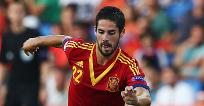 Isco Excited At The Prospect Of Joining Real Madrid