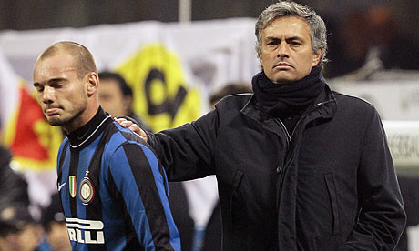 Chelsea And Tottenham To Vie For Wesley Sneijder