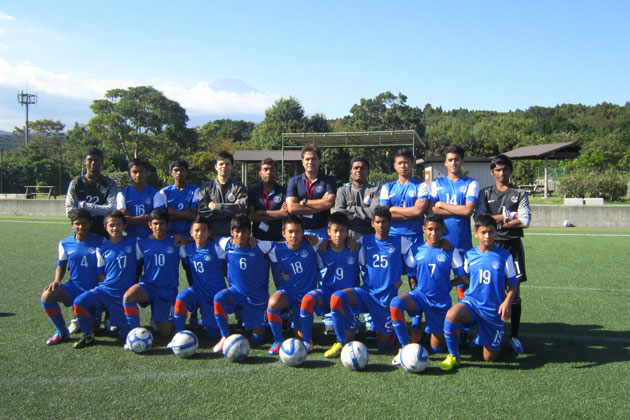 India U-14 Football Team, one for the future.