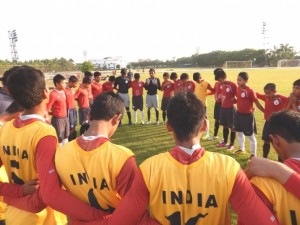 India U-16 Team for the SAFF U-16 Championships