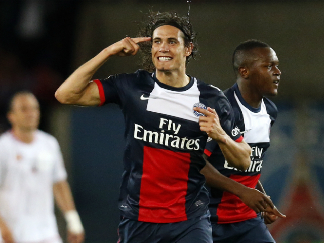 Edison Cavani - PSG's blockbuster signing for the season